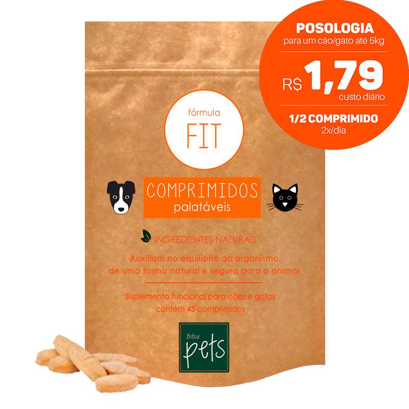 Suplementos Funcionais em Comprimidos para Cães e Gatos   Fórmula Fit