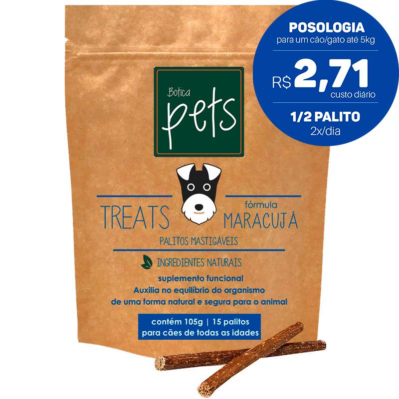Suplementos Funcionais em Palitos para Cães   Fórmula Maracujá