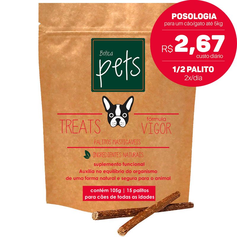 Suplementos Funcionais em Palitos para Cães | Fórmula Vigor