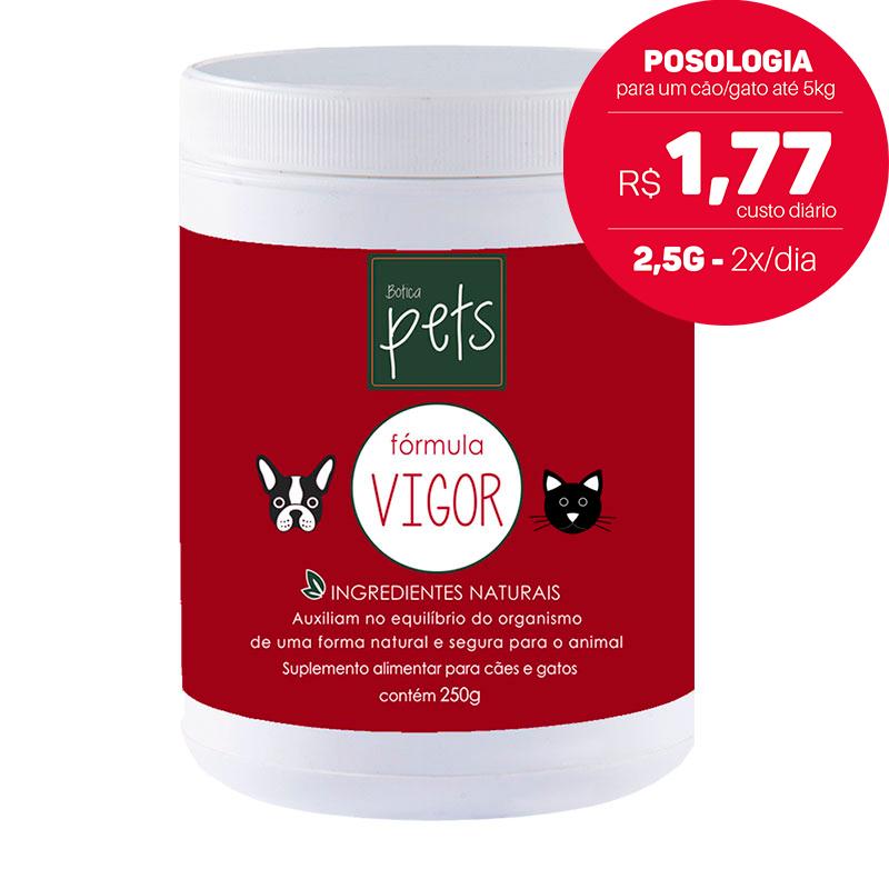 Suplementos Funcionais em Pó para Cães e Gatos | Fórmula Vigor