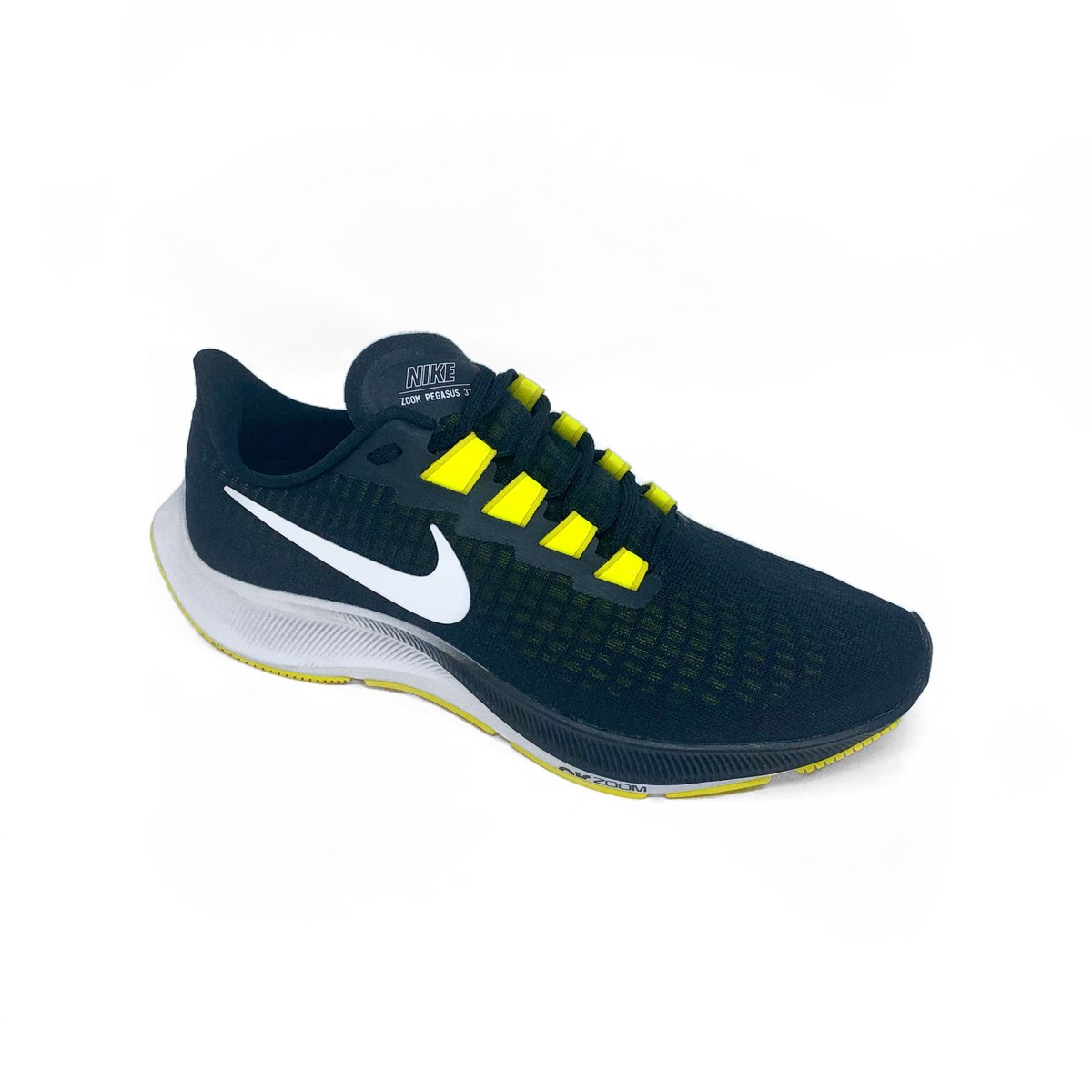 Nike Air Zoom Pegasus 37 Black/White Opti Yellow