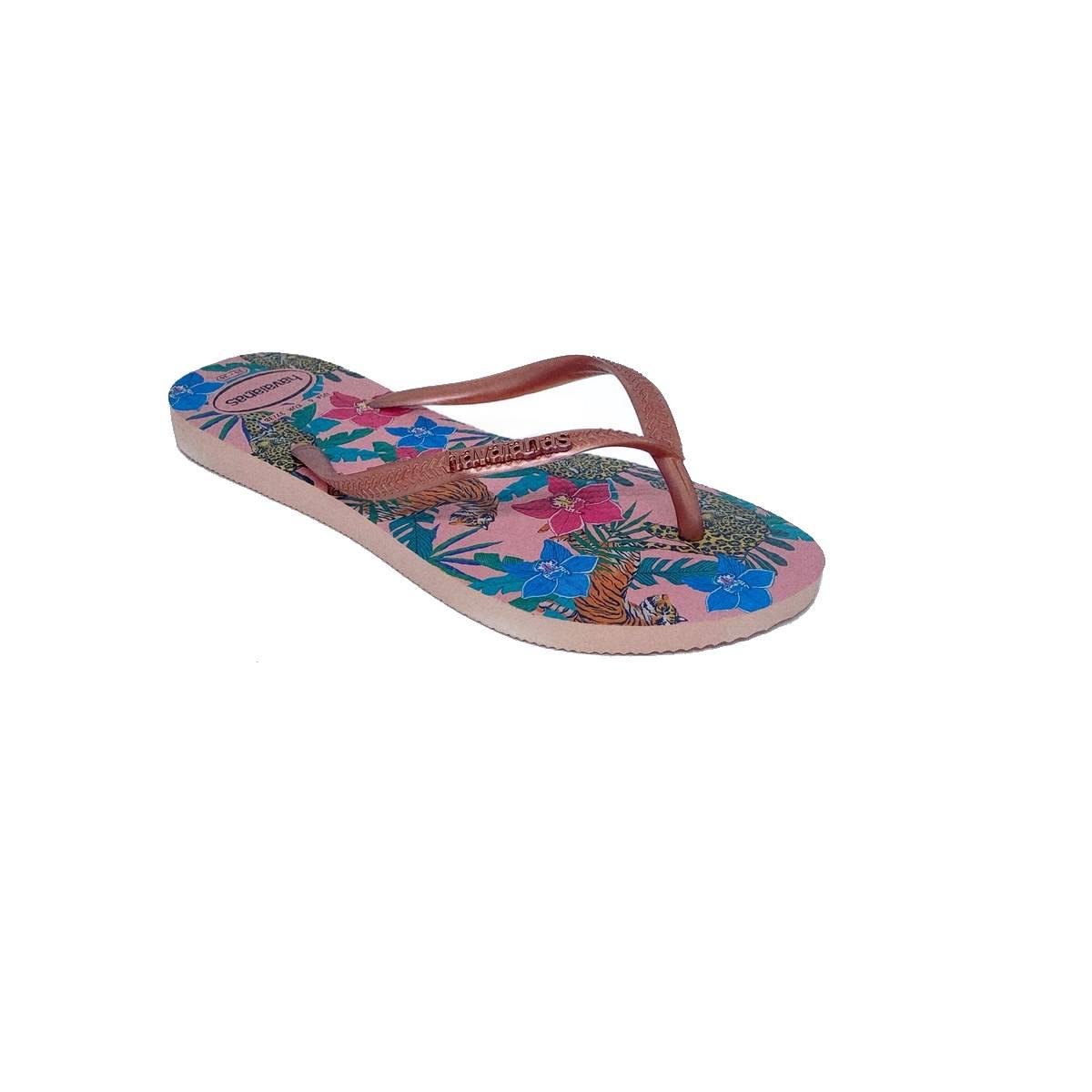 Havainas Slim/Tropical Rosa