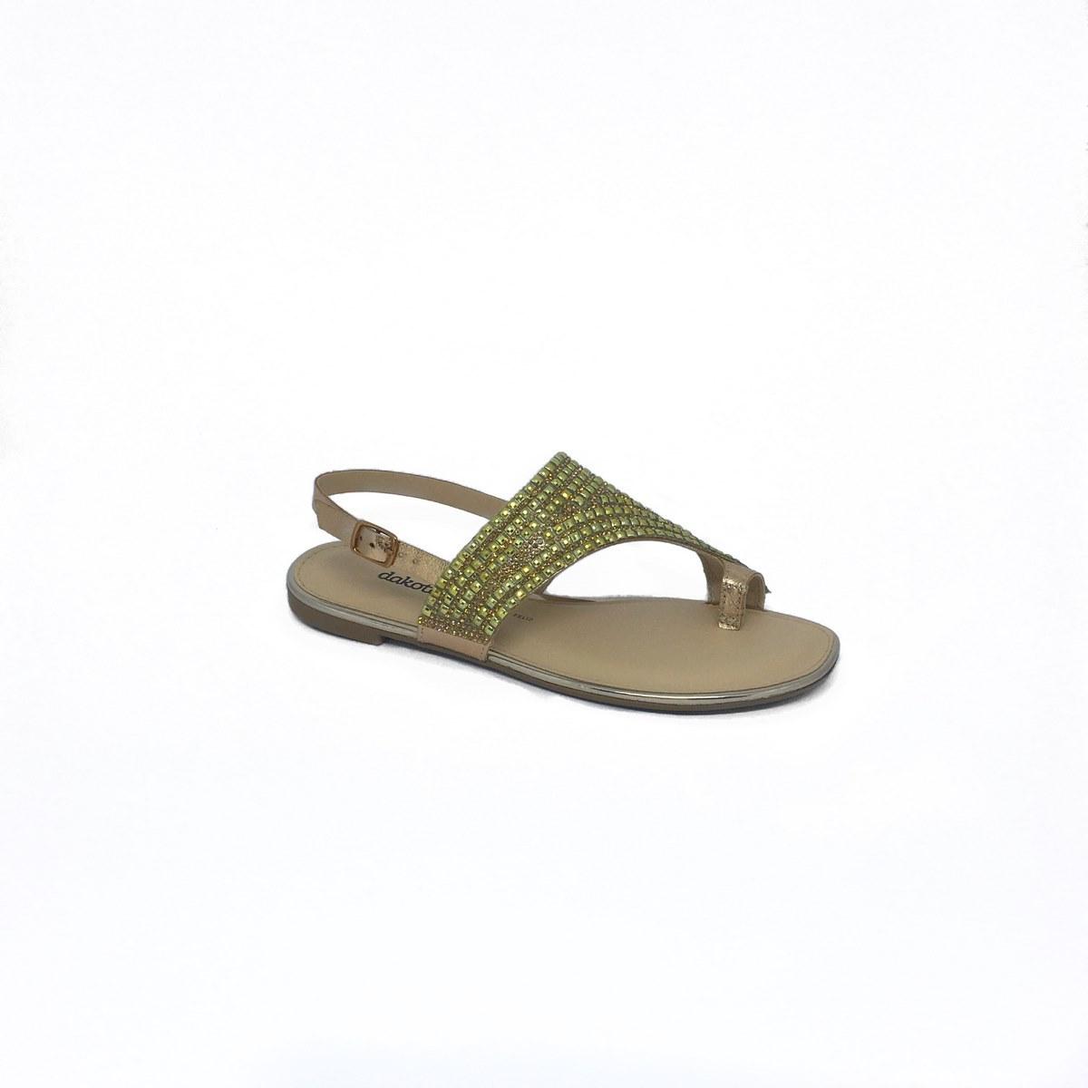 Sandália Dakota Dourada