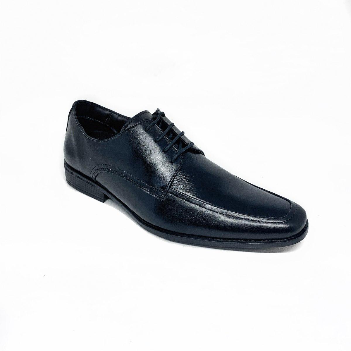 Sapato Ferracini Social Cadarço - Preto