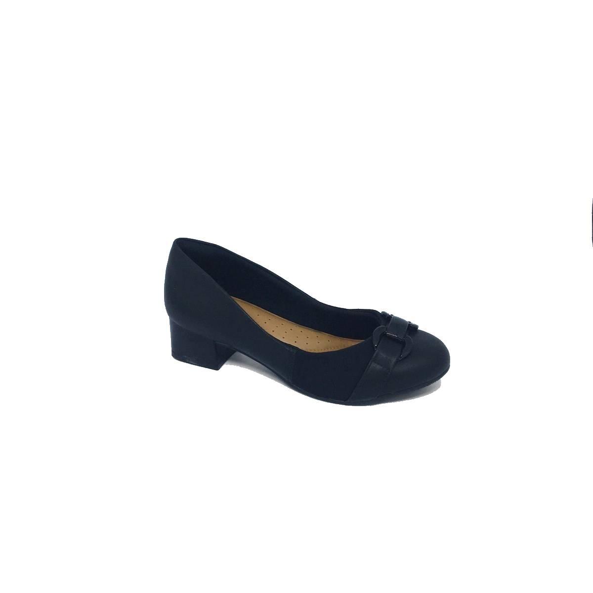 Sapato Social Comfort Flex Preto