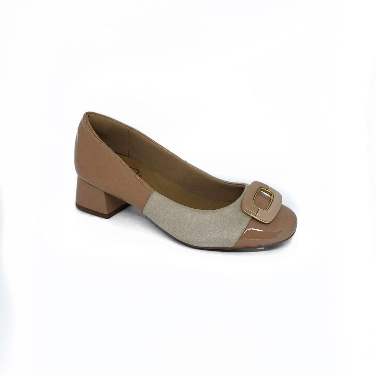 Sapato Social Salto Malu Super Comfort