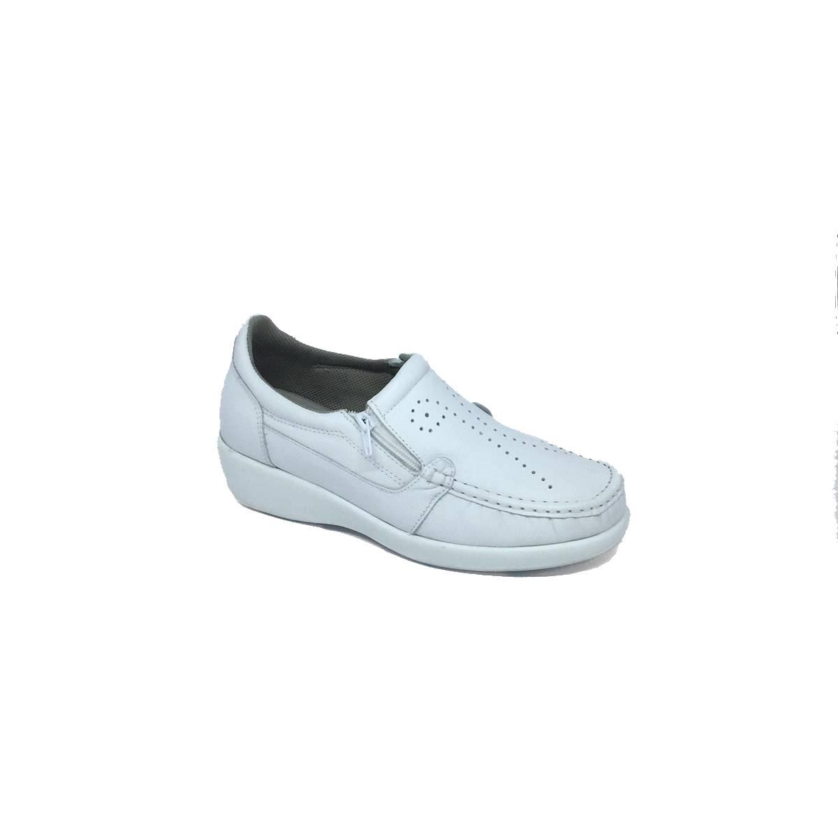 Sapato Social Zíper Doctor Pé Branco