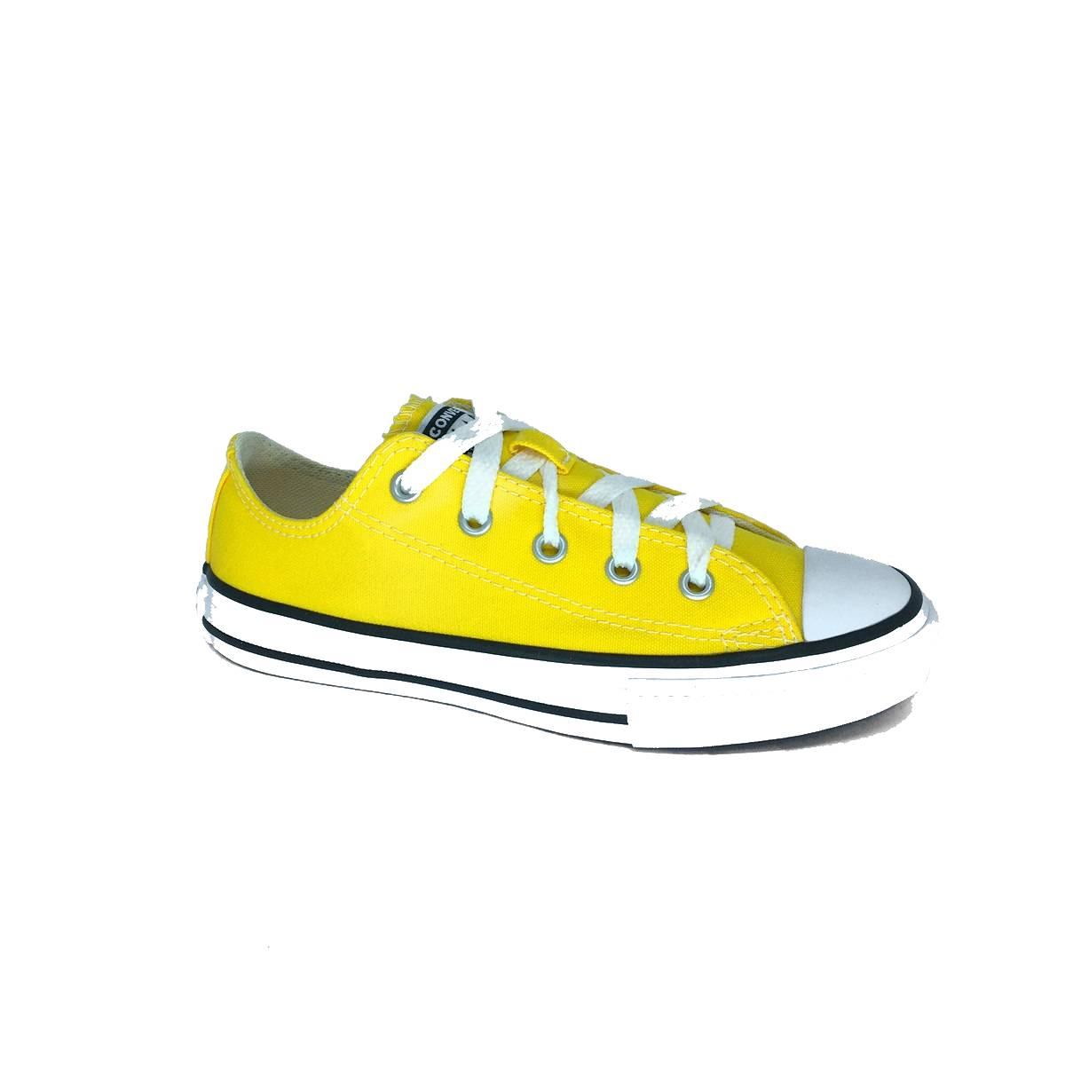 Tênis All Star Amarelo/Branco