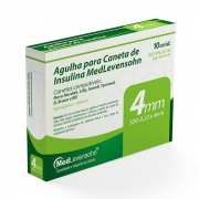 Agulha para Caneta de Insulina 4mm 10 unidades - MedLevensohn