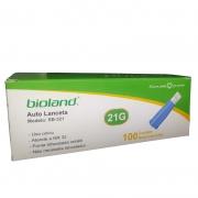 Auto Lanceta Automática 21G Bioland - 100 unidades