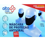 Máscara Antiviral Reutilizável Alta Mais