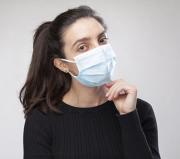 Máscara Tripla Proteção Descartável Azul Caixa C/50 Nayr