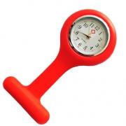 Relógio de Lapela Vermelho - Medicina e Enfermagem