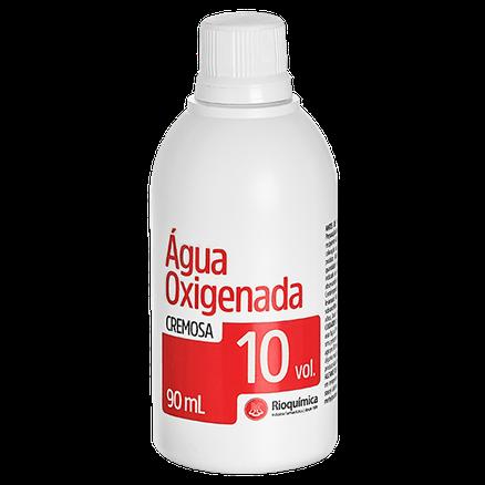 Água Oxigenada Cremosa 10 volumes - 90 ml  (Rioquímica) 12 unidades