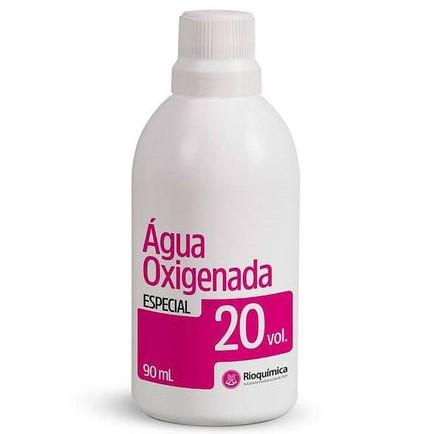 Água Oxigenada Cremosa 20 volumes - 90 ml (Rioquímica) 12 unidades