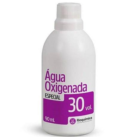 Água Oxigenada Cremosa 30 volumes - 90 ml (Rioquímica)