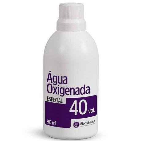 Água Oxigenada Cremosa 40 volumes - 90 ml (Rioquímica) 12 unidades