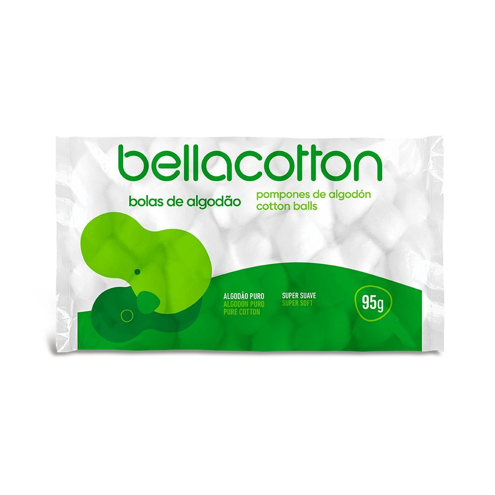 Algodão em Bola Bellacotton 95g