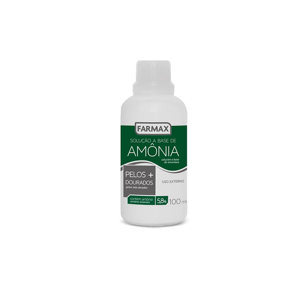 Amônia (solução) 100 ml Farmax - 12 unidades