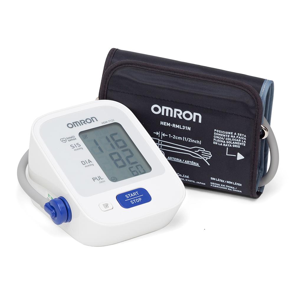 Aparelho de Pressão Digital Automático de Braço - OMRON HEM-7122