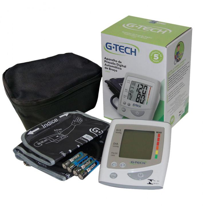 Aparelho de Pressão Digital de Braço - G-TECH LA250