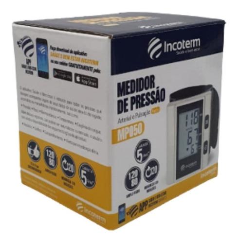 Aparelho de Pressão Digital de Pulso MP050 - Incoterm