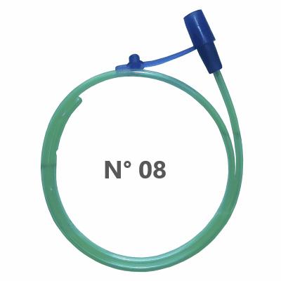 Cateter Nasal para Oxigênio tipo Sonda n°8 - 10 unidades - MedSonda