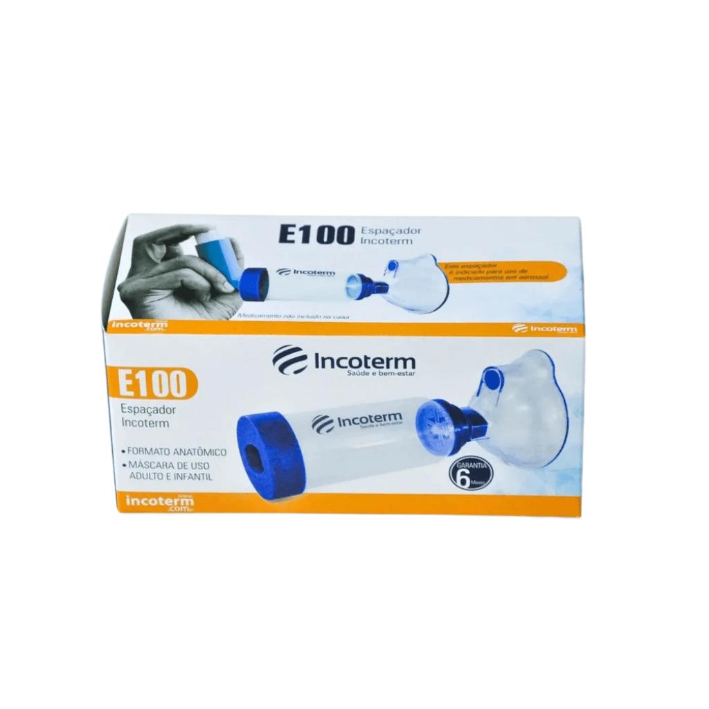Espaçador Adulto e Infantil para Broncodilatador - Incoterm