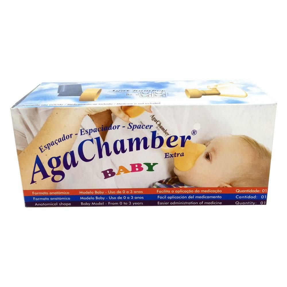 Espaçador Baby para Broncodilator - Agachamber