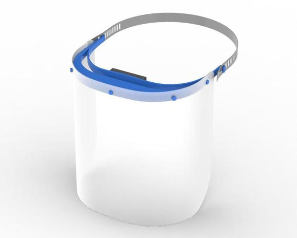 Face Shield Infantil Azul - Farmatex