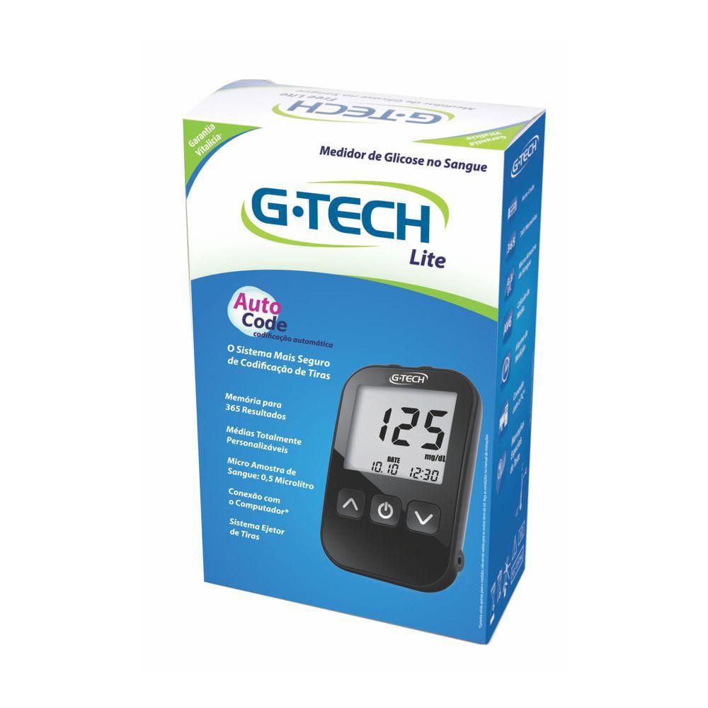 Monitor de Glicose Lite G-TECH