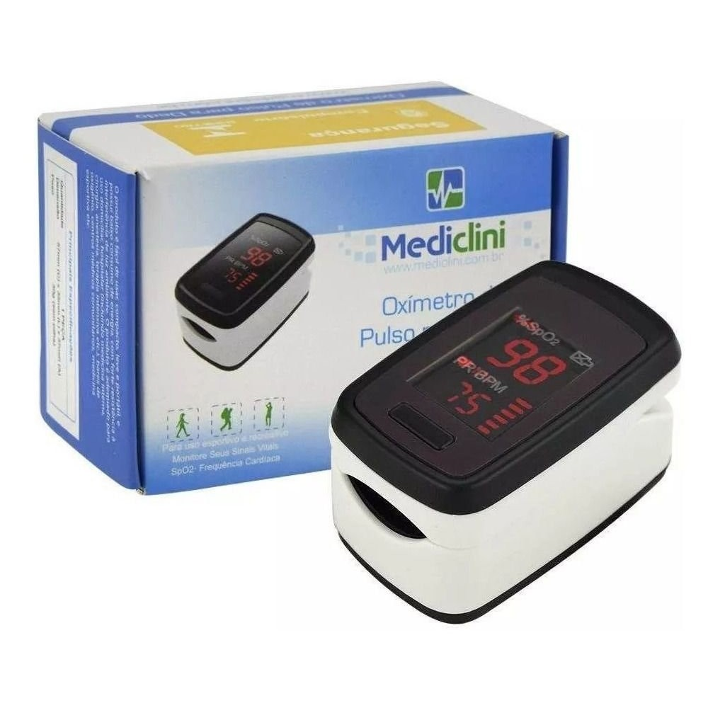 Oxímetro de Dedo Portátil - Mediclini