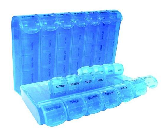 Porta Comprimidos Organizador por Turno Semanal  - Incoterm