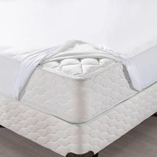 Protetor de Colchão Impermeável Siliconizado com Elástico - SeniorCare Luxo