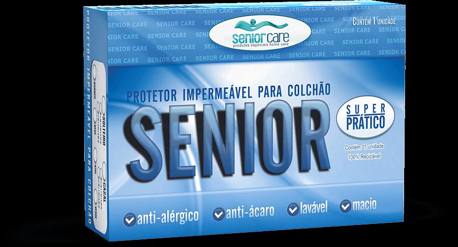 Protetor de Colchão Impermeável Siliconizado com Ziper - SeniorCare