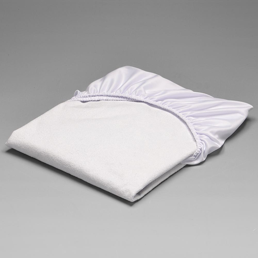Protetor Impermeável de Colchão para Berço Padrão com Elástico Branco