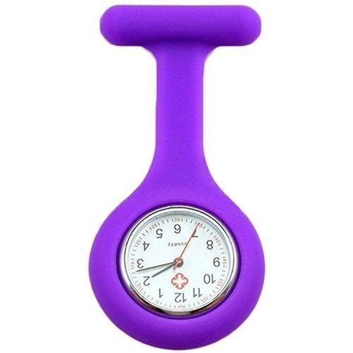 Relógio de Lapela Roxo - Medicina e Enfermagem