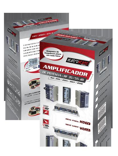 Amplificador de Potência de RF 55 dB