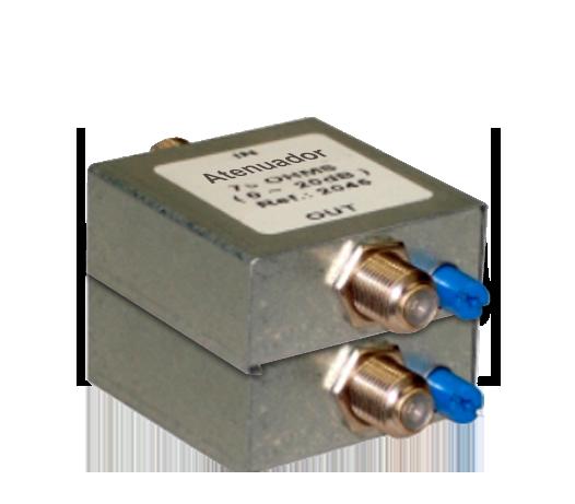 Atenuador Variável 20 dB 75 Ohms