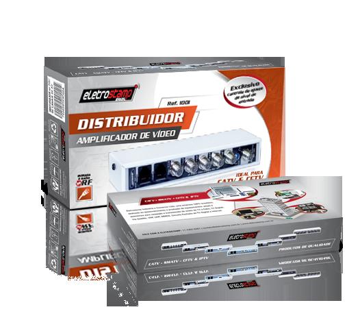 Distribuidor Amplificador de Vídeo