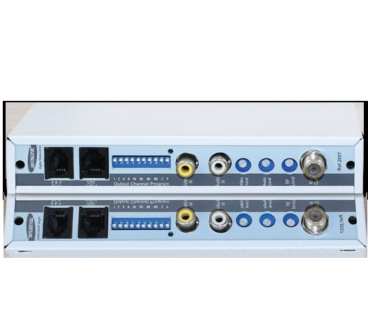 Modulador Ágil Programável VHF, UHF e Cabo