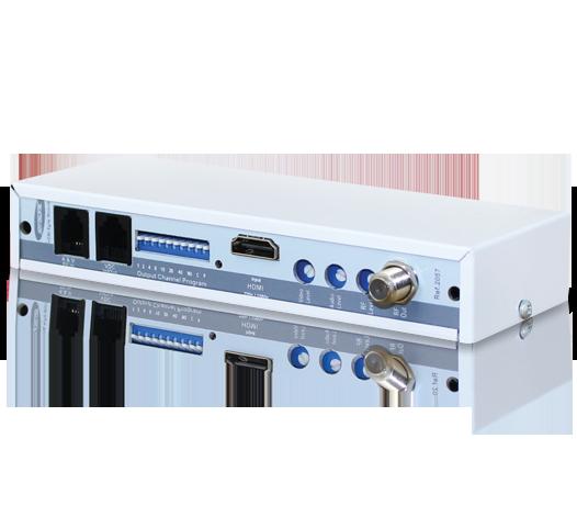 Modulador Analógico com entrada HDMI para RF