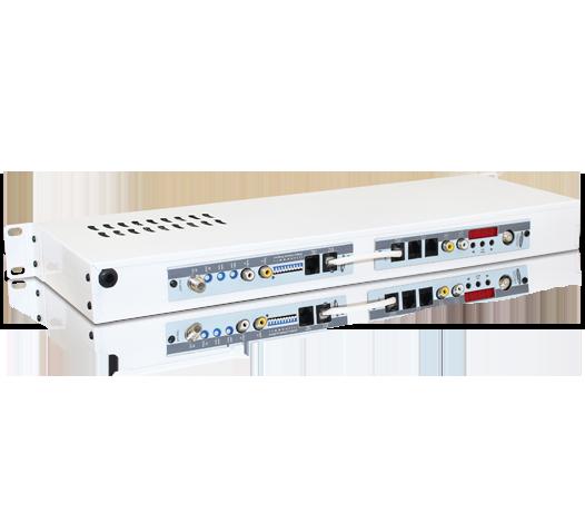 Receptor Analógico Banda C Modulado à Canal Ágil Ch. 02 ao 125 (VHF, UHF e Cabo)