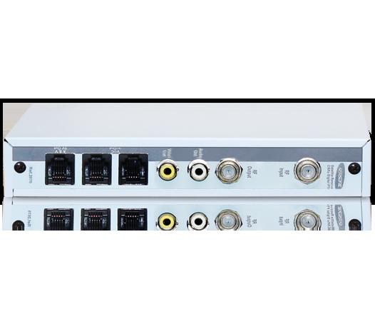 Receptor Digital DVB-S Banda C e Ku para Sistemas Coletivos de Antenas e TV a Cabo