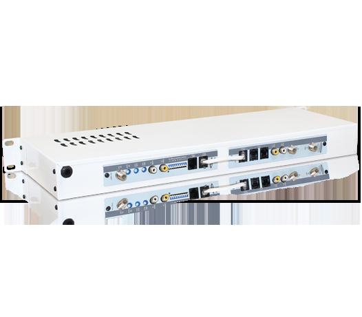 Receptor Digital Satélite DVB-S Banda C e Ku Modulado à Canal Ágil Ch. 02 ao 125 (VHF, UHF e Cabo)