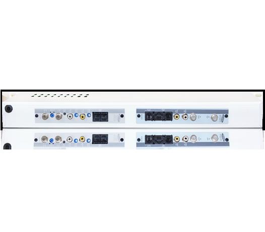 Receptor Digital Satélite DVB-S Modulado à Canal Adjacente UHF/Cabo (Hiperbanda)
