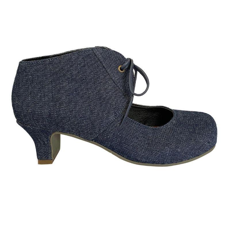 Sapato Boneca Abas Jeans
