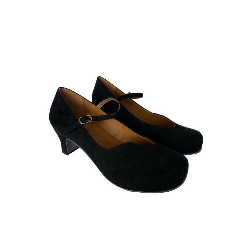 Sapato Boneca Camurça