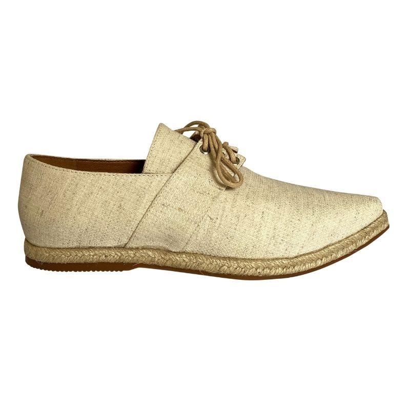 Sapato Oxford Bico Fino Tecido