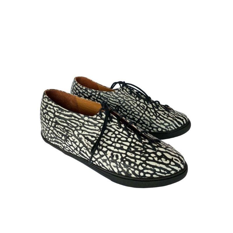 Sapato Oxford Cadarço Couro